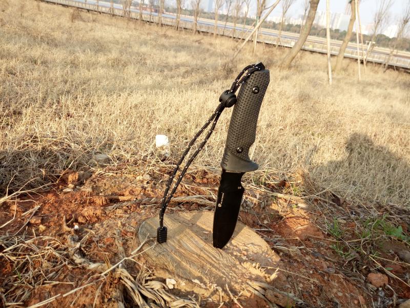 野外求生必备利器,汉道-探索者生存刀测评