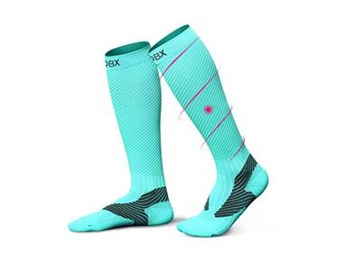 肌能斯巴达梯度压缩袜