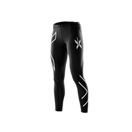 2XU 女子专业梯度运动压缩裤 跑步健身裤超轻速干训练裤