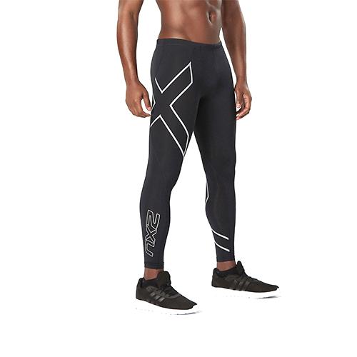 2XU 男士专业梯度压缩裤速干透气耐磨跑步健身裤MA1967b