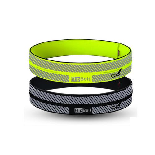 Flipbelt夜跑装备跑步腰包运动腰带男女士马拉松反光手机包飞比特