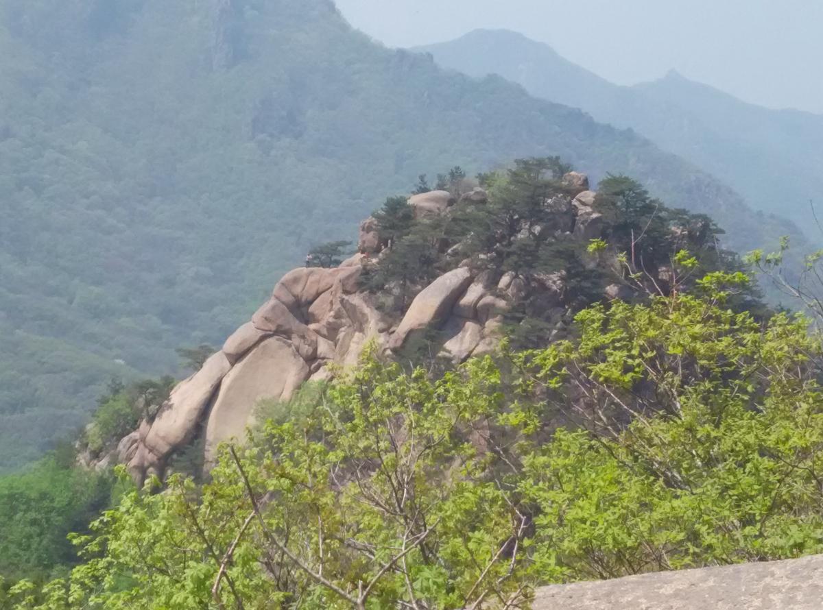 登千朵莲花山——下夹峰-笔架峰-老天棚峰-凤凰石